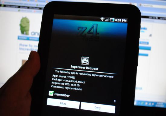 install z4root