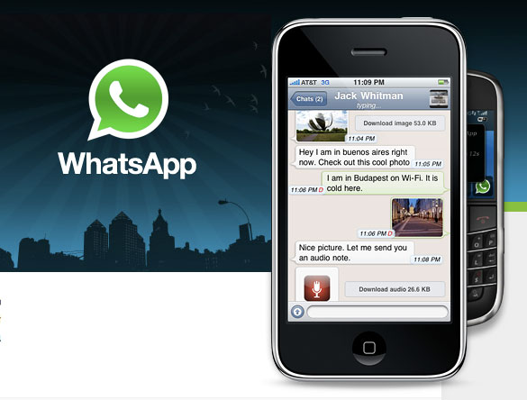 WhatsApp Messenger 21820 for iPhone - Download