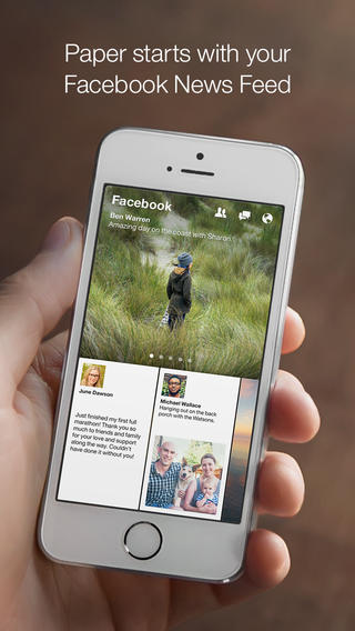 Facebook's Paper App