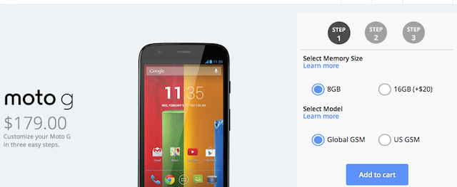 Moto G Now Available at US Cellular, Heads to AIO Wireless on Valentine's Day