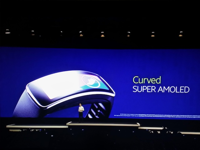 curved amoled display galaxy s5