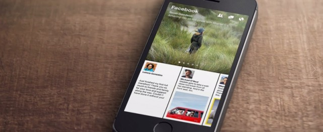 Facebook Paper App Released in App Store
