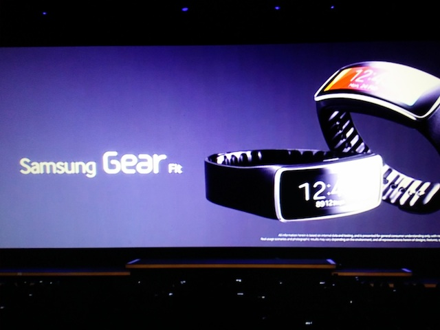 gear fit galaxy s5 announcement