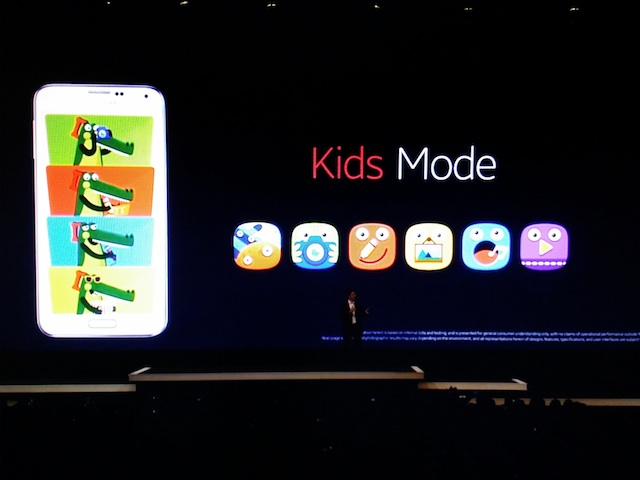 kids mode galaxy s5