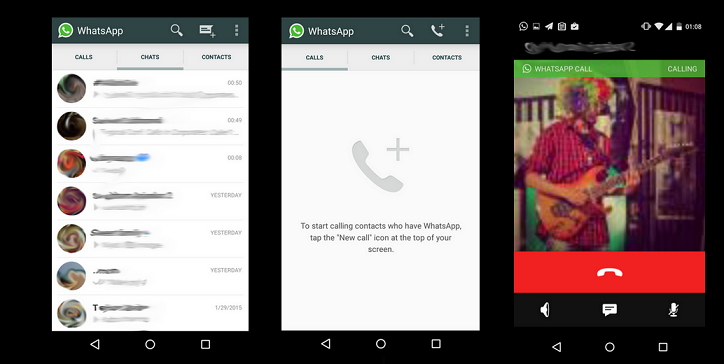 Getting WhatsApp Calling For Android