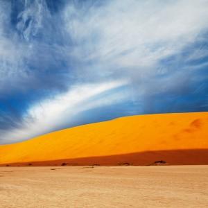 Dry land