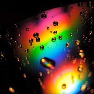 Rainbow Water Drops