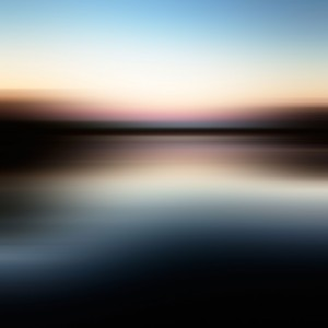 Blurred lake