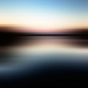 Blurred lake