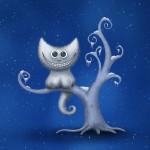 vladstudio cheshire kitten christmas wallpaper win7