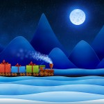 vladstudio christmas train wallpaper