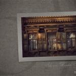 siberian wooden houses wallpaper