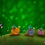 snail racing windows wallpaper